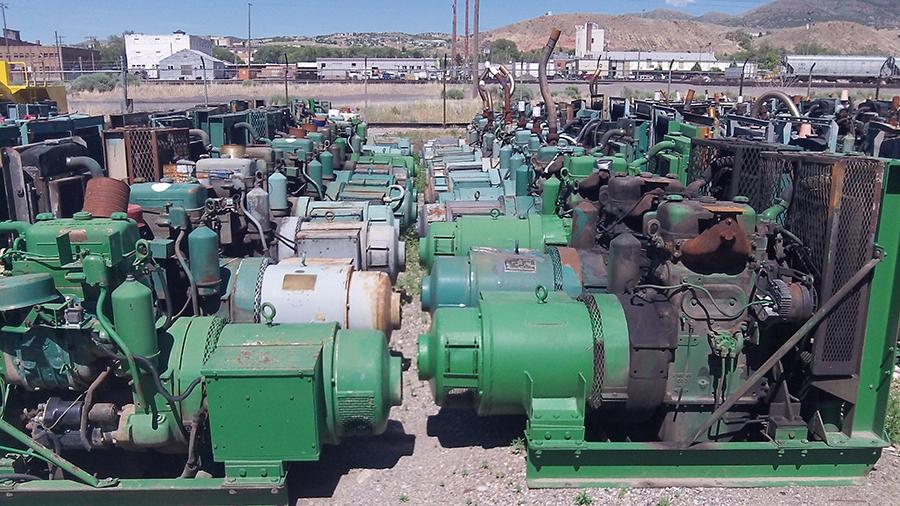 detroit diesel 2-71 generators