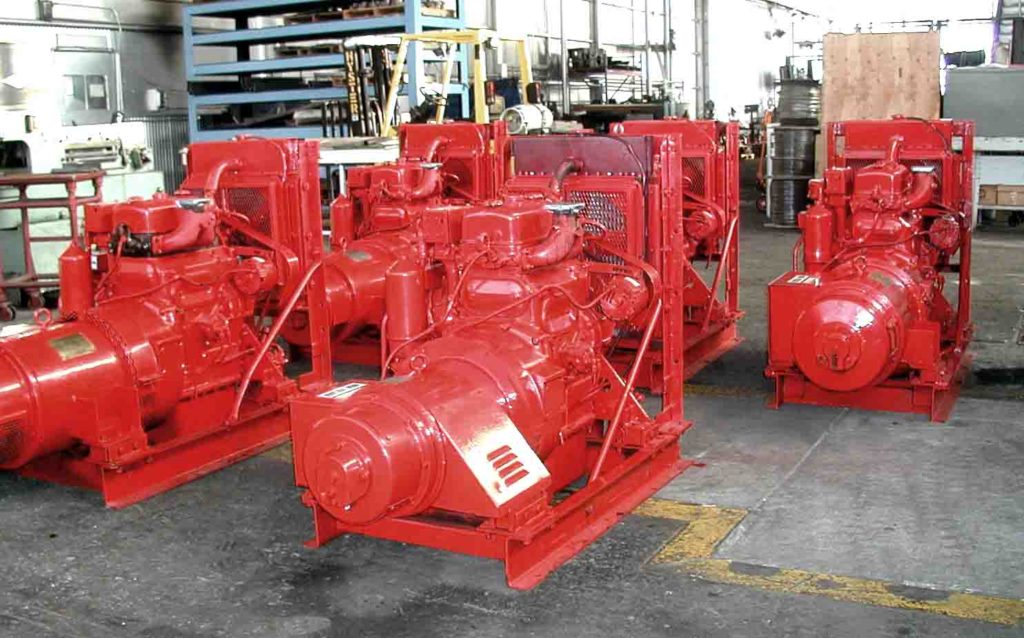 image of Emerson & Matkin Detroit Diesel 2-71 Generators for Sale