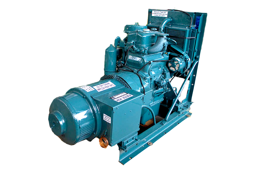 Image of Detroit Diesel Industrial Generator 2-71 for Sale