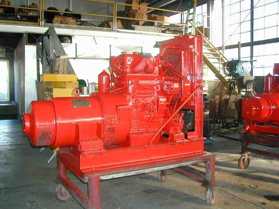 detroit diesel 2-71 generator