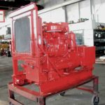 image of Detroit Diesel 2-71 Generator in Red