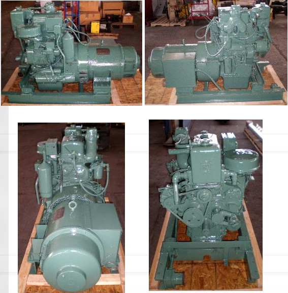 image of marine 2-71 diesel generators