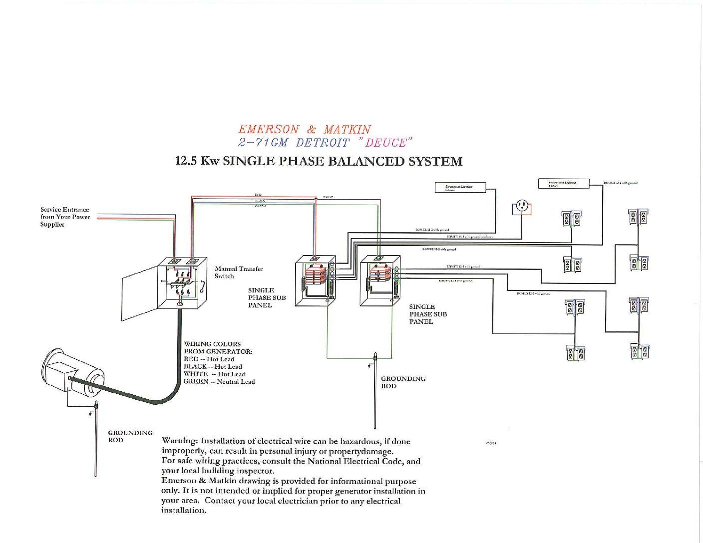 Electric Generator Diagram Pdf